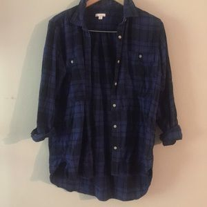 Gap flannel fleece